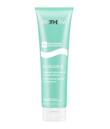 Biosource Mousse Nettoyante - Gel Detergente Pelli Normali e Miste 150 ml
