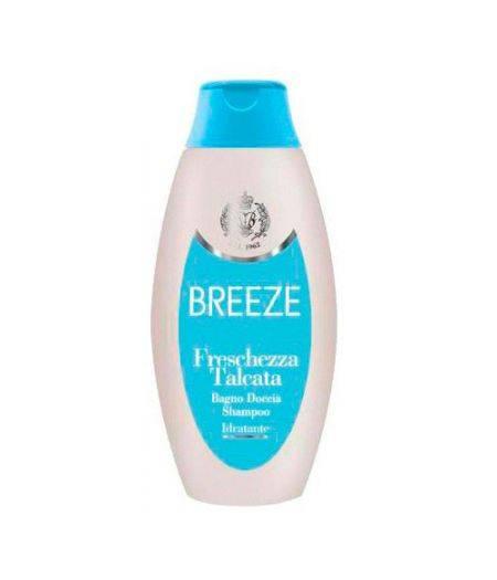 Breeze Freschezza Talcata - Bagno Doccia Shampoo Idratante 400 ml