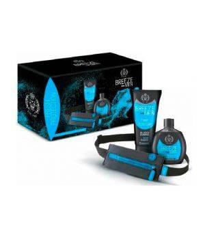 Cofanetto Breeze Men Fresh Protection  - Deodorante Squeeze 100 ml + Gel Doccia Shampoo 200 ml + Runner Belt