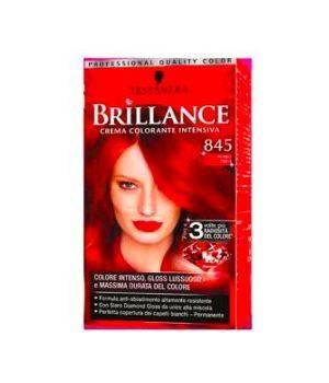 Brillance Crema Colorante Intensiva 845 Rosso Raso
