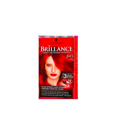 Brillance Crema Colorante Intensiva 845 Rosso Raso