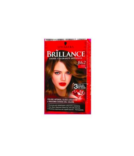 Brillance Crema Colorante Intensiva 862 Castano Chiaro