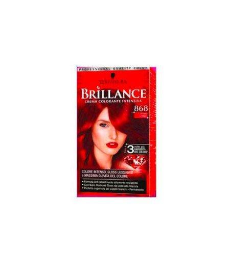 Brillance Crema Colorante Intensiva 868 Rosso Intenso