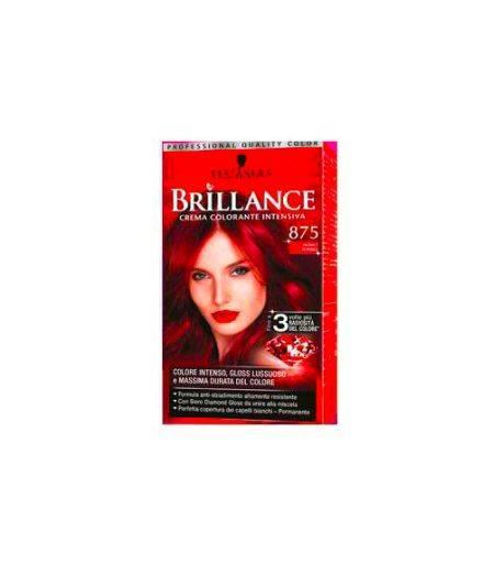 Brillance Crema Colorante Intensiva 875 Rosso Rubino
