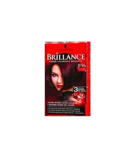 Brillance Crema Colorante Intensiva 896 Nero Rosso Seta