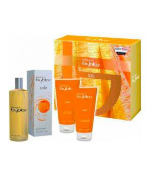 Cofanetto Elementi di Byblos Sole - Eau de Toilette 120 ml + Shower Gel 100 ml + Body Lotion 100 ml