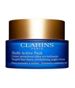 Multi-Active Creme Nuit Legere - Crema Viso Notte Prime Rughe per Pelli da Normali a Miste 50 ml