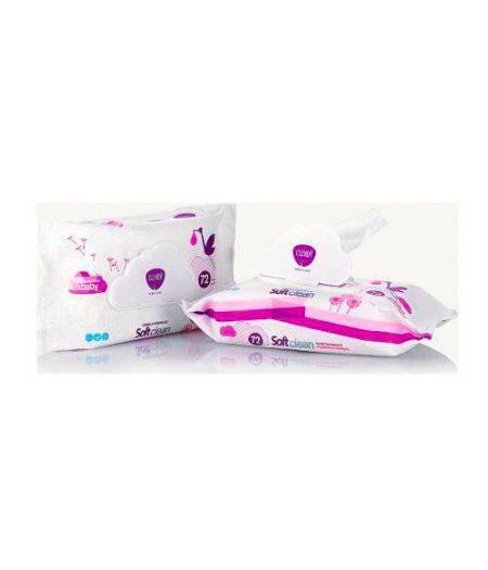 Salviettine Imbevute Soft Clean Baby 72 pz