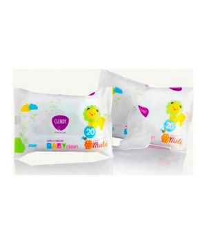 Salviettine Baby Clean Miele 20 pz