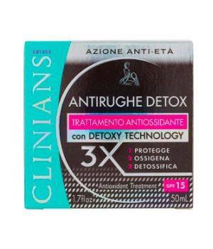 Crema Antirughe Detox SPF15 50 ml