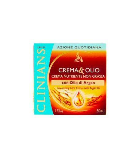 Crema&Olio Crema Nutriente Non Grassa con Olio di Argan 50 ml