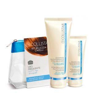 Capelli Perfetti Travel Kit Uso Frequente - Shampoo Multivitaminico 100 ml + Balsamo-Gel Multivitaminico Extra-delicato 50 ml