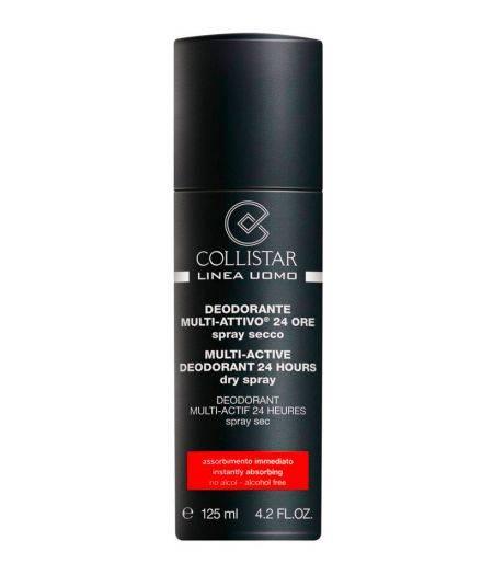 Linea Uomo Deodorante Multi-Attivo 24 Ore Spray Secco 125 ml