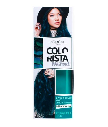 Colorista Washout 2 Weeks - Colorazione Temporanea 80 ml Turquoise