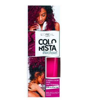 Colorista Washout 2 Weeks - Colorazione Temporanea 80 ml Burgundy