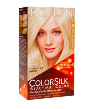 ColorSilk - Tinta per Capelli 05 Ultra Light Ash Blonde