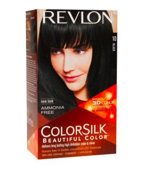 ColorSilk - Tinta per Capelli 10 Black