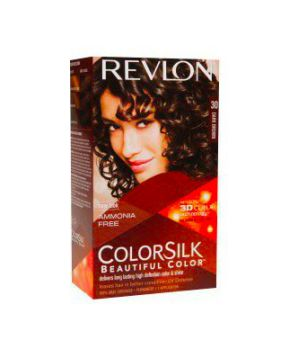 ColorSilk - Tinta per Capelli 30 Dark Brown