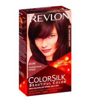ColorSilk - Tinta per Capelli 32 Dark Mahogany Brown