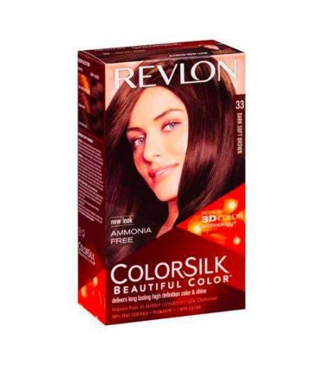 ColorSilk - Tinta per Capelli 33 Dark Soft Brown
