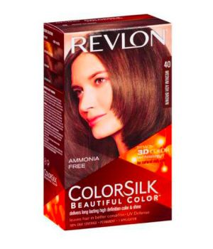 ColorSilk - Tinta per Capelli 40 Medium Ash Brown