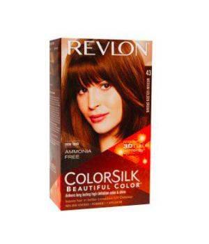 ColorSilk - Tinta per Capelli 43 Medium Golden Brown