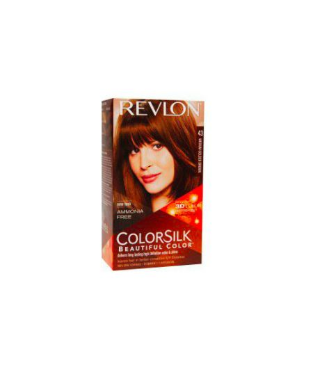 ColorSilk - Tinta per Capelli 43 Medium Golden Brown