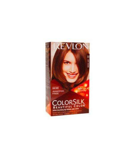 ColorSilk - Tinta per Capelli 51 Light Brown