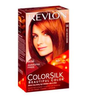 ColorSilk - Tinta per Capelli 54 Light Golden Brown