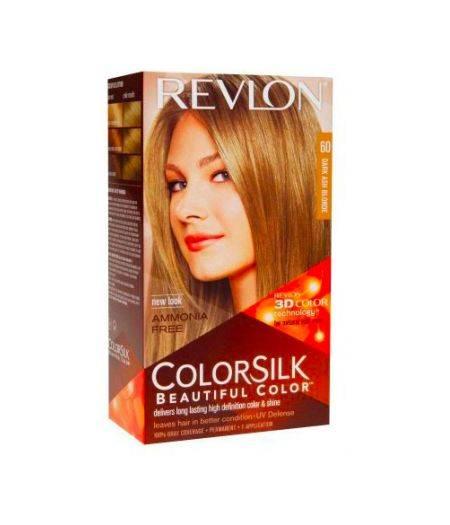 ColorSilk - Tinta per Capelli 60 Dark Ash Blonde