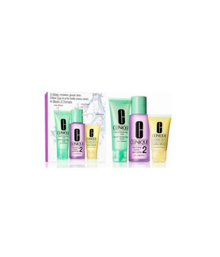 Sistema in 3 Fasi Intro Kit 2 - Liquid Facial Soap 50 ml + Clarifying Lotion 100 ml + Dramatically Different Moisturizing Gel 30 ml