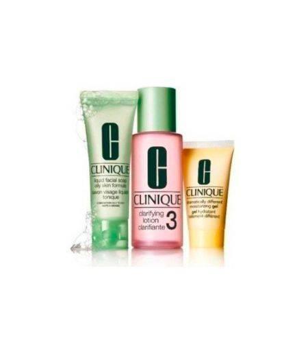 Sistema in 3 Fasi Intro Kit 3 - Liquid Facial Soap 50 ml + Clarifying Lotion 100 ml + Dramatically Different Moisturizing Gel 30 ml