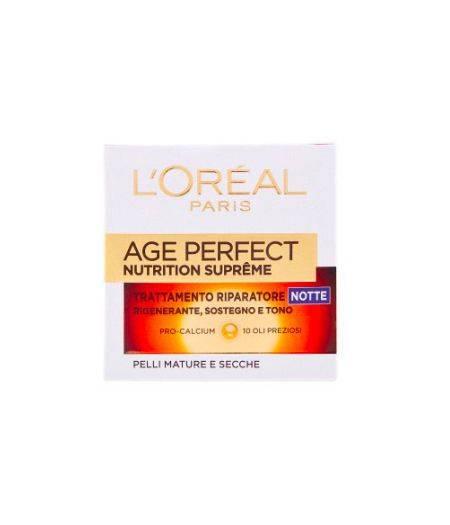 Age Perfect Nutrition Supreme Trattamento Riparatore Notte Pelli Mature e Secche 50 ml