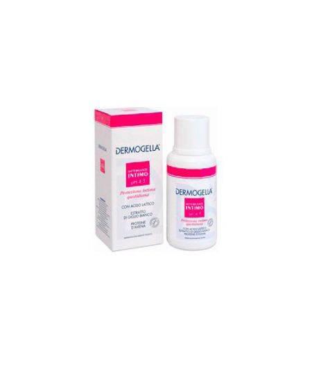 Detergente Intimo Con Acido Lattico Estratto Di Giglio Bianco E Proteine D'Avena Flacone 200 Ml