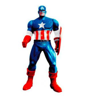 Captain America 3D - Gel Doccia 200 ml
