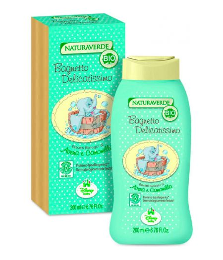Naturaverde Bio - Bagnetto Delicatissimo 200 ml