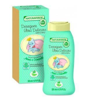 Naturaverde Bio - Detergente Ultra Delicato Corpo & Capelli 200 ml