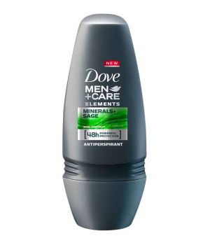Men+Care Elements Mineral Powder & Sage Deodorante Roll-On 50 ml