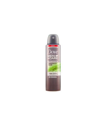 Men + Care Minerals & Sage Spray 150 ml