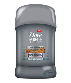 Men+Care Talc Mineral+Sandalwood Deodorante Stick 40 ml
