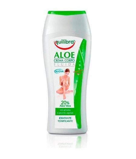 Crema Fluida Per Il Corpo Idratante E Purificante Aloe  250Ml