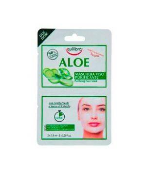 Aloe Maschera Viso Purificante 2 x 7,5 ml