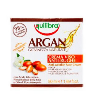 Argan Crema Viso Anti-Rughe 50 ml