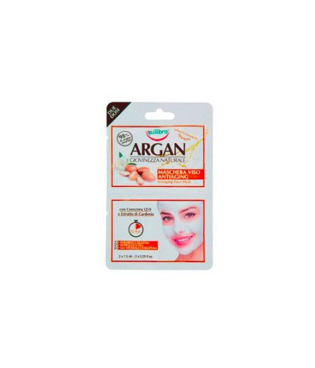 Argan Maschera Viso Antiaging 2 x 7,5 ml