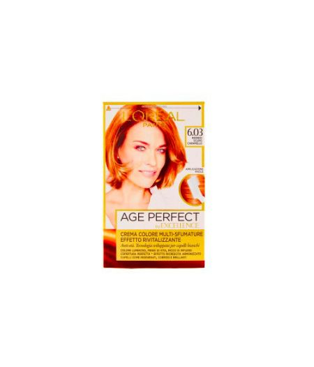Excellence Age Perfect - Tintura per Capelli 6.03 Biondo Scuro Caramello
