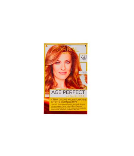 Excellence Age Perfect - Tintura per Capelli 7.31 Biondo Ambra
