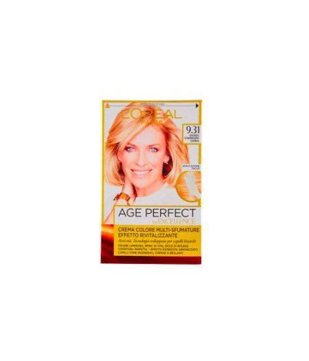 Excellence Age Perfect - Tintura per Capelli 9.31 Biondo Chiarissimo Sabbia