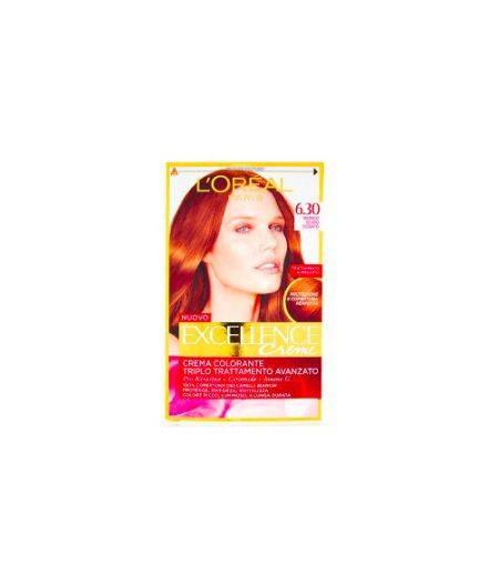 Excellence Creme Crema Colorante 6.30 Biondo Scuro Dorato
