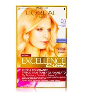 Excellence Creme Crema Colorante 03 Biondo Ultra Chiaro Cenere