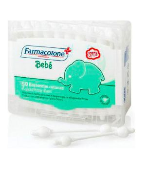 Bebe' Bastoncini Cotonati Protector 50 pz